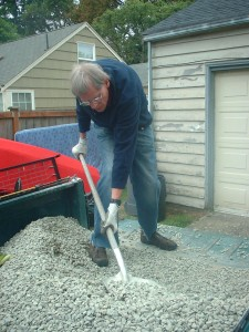 Sometimes I get accused of really shoveling it.  That accusation is not entirely without foundation.  Photo courtesy of PJH
