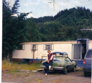 Preparing to leave Canyonville, Oregon in the wake of the 1989 Timber Recession