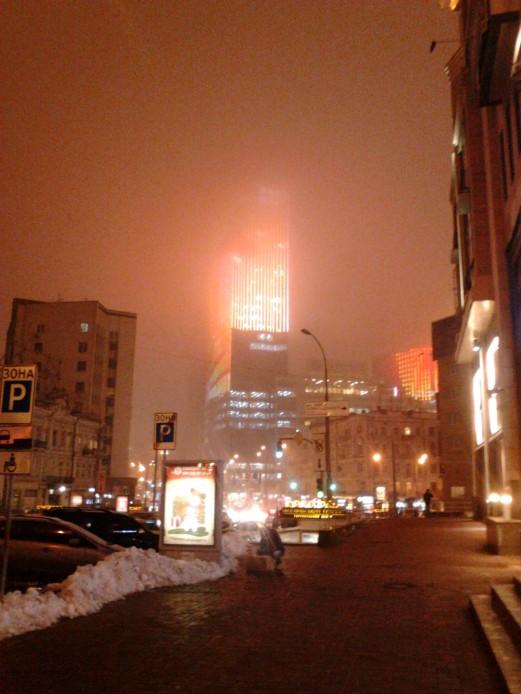 Kiev at night.  Photo by Olya Bereza – European Editor