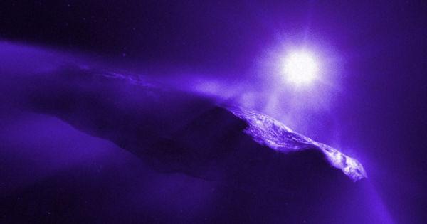 weird comet