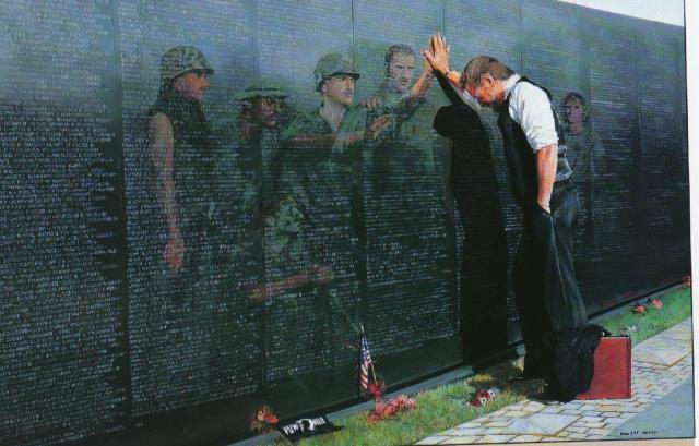 VietnamWall-reflections