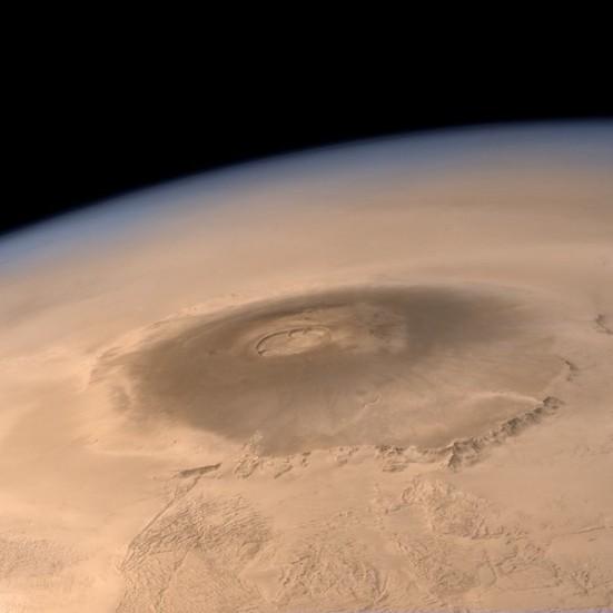 volcano on mons